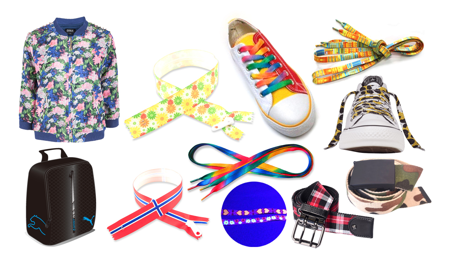 Printed garment accessories