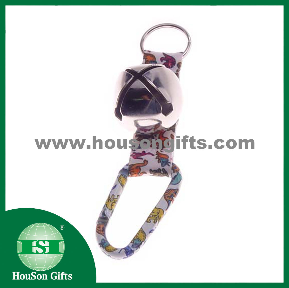 cartoon printed carabiner