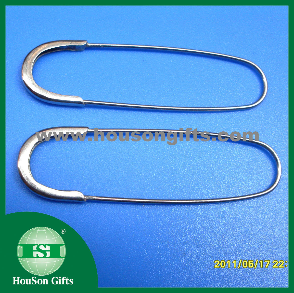Iron Safety pin