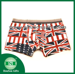 UK Flag elastic underwear