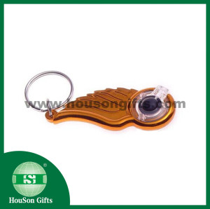 Christmas gifts led caraibner keychain