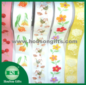 Fancy Printed ribbon