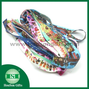 Cartoon printed lanyard