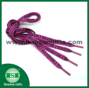 Glitter head shoelace