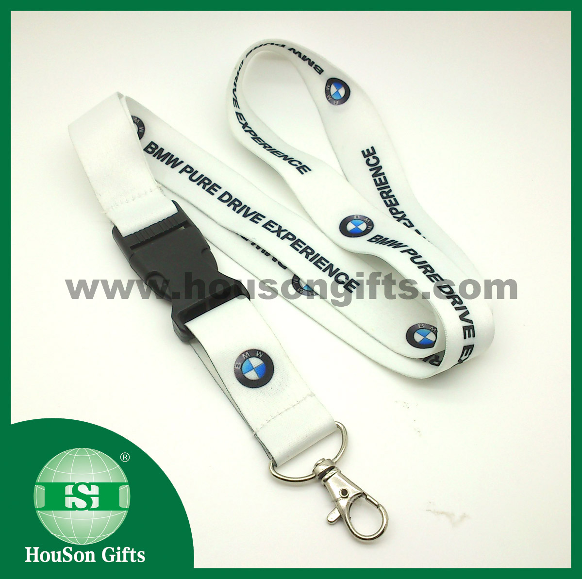 lanyard with middle buckle