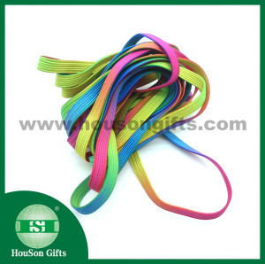 Elastic shoelace