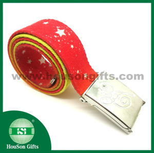 Red star Fashion belt
