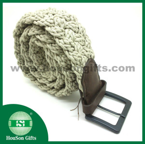 Ladies woven belt