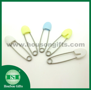 Plastic head Safety pin