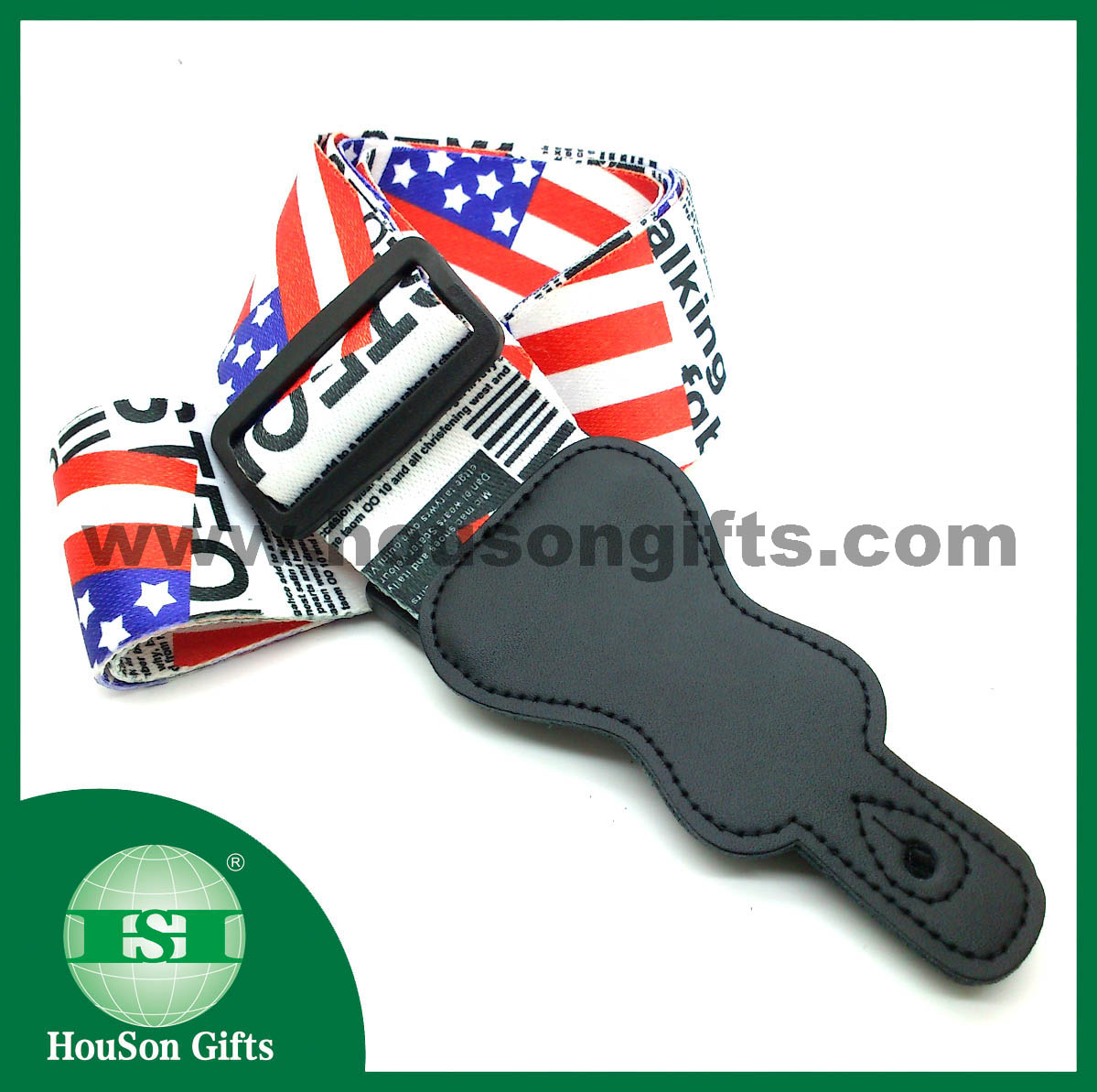 US flag guitar belts