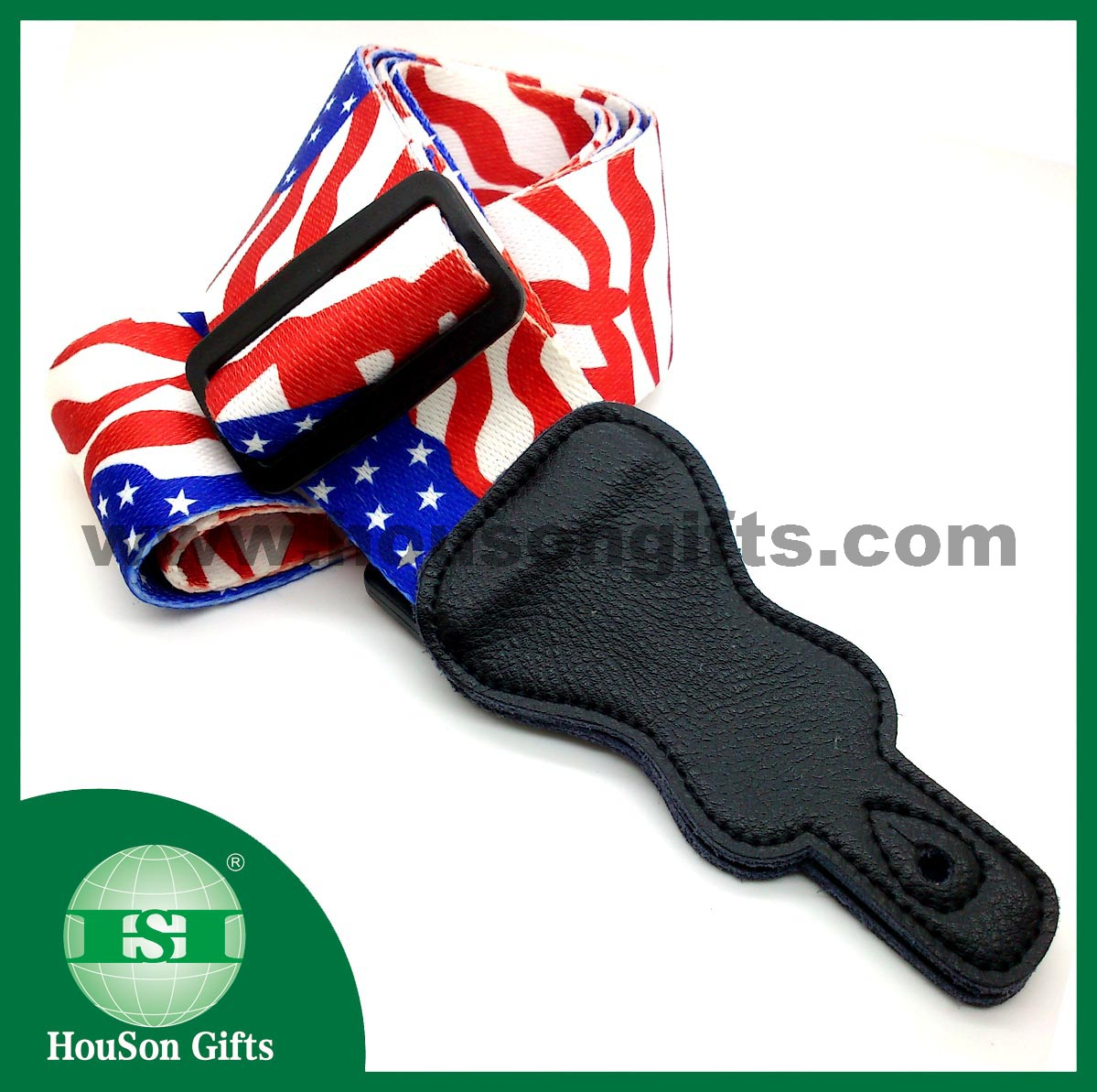 US flag guitar strap OEM