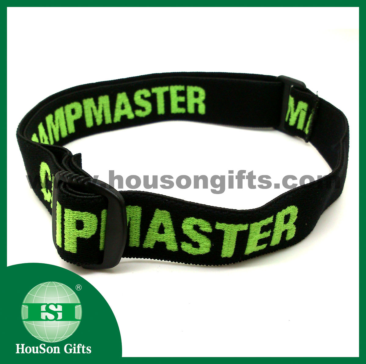 Jacquard elastic band for head lamp