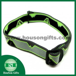 Jacquard elastic band headlamp
