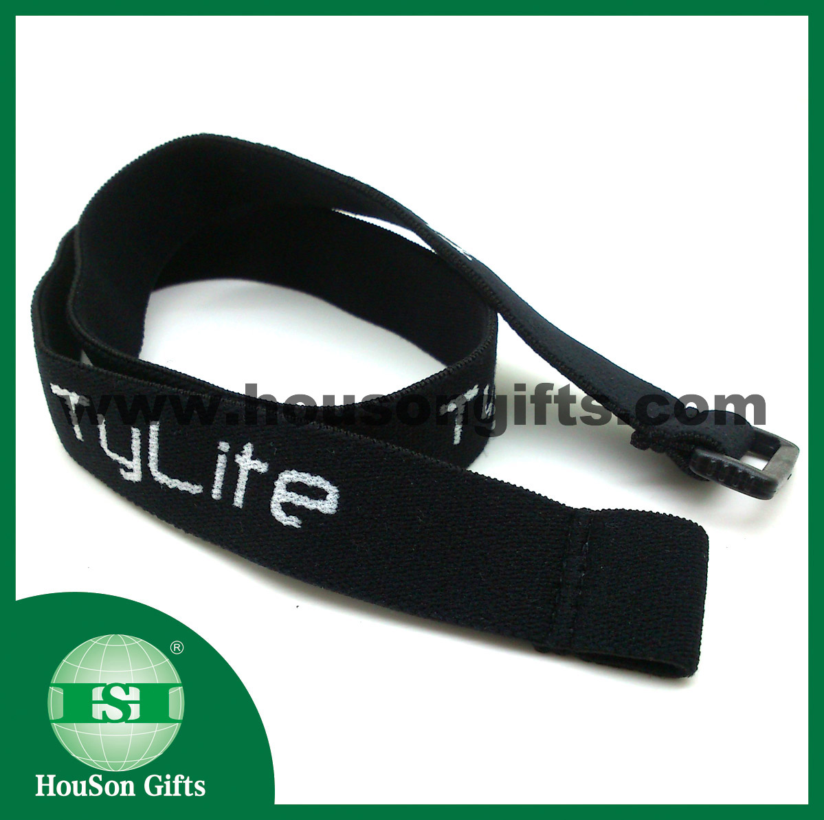 LED headlamp Jacquard strap