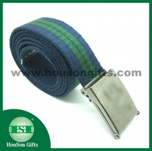 Navy woven men waist band