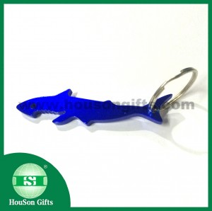 Custom shark bottle opener