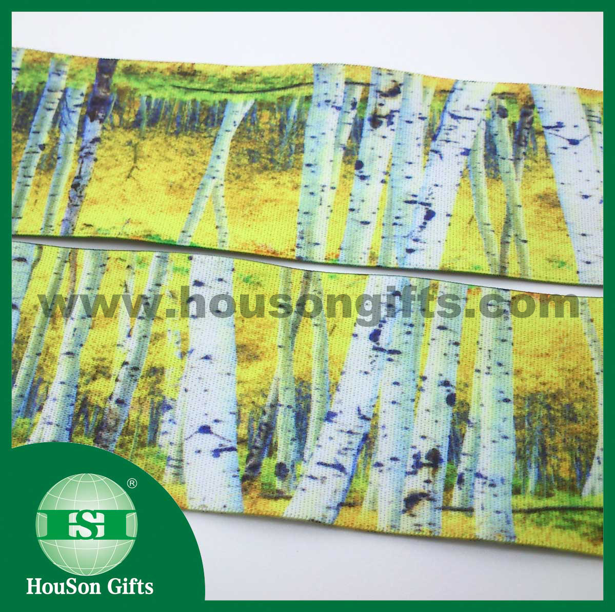Forest sublimated elastic waistband