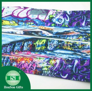 Urban graffiti clothing elastic band